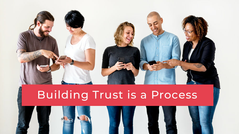 Marketing Automation building trust is a process